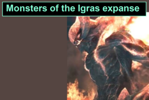 Monsters of the Igras expanse