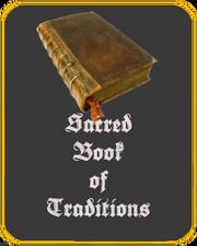 Sacred book-tile