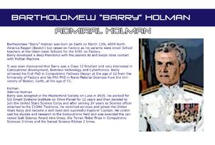 Admiral holman