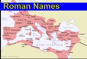 Romannames
