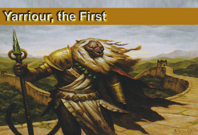 Yarriour, the First