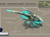 Saresii - Cybernetic Insect - Spy Drone