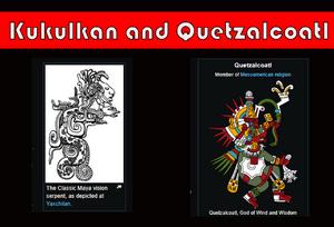 Kukulkan and Quetzalcoatl