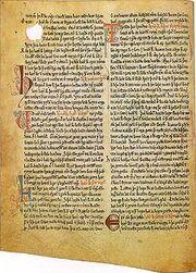 220px-A page of Heimskringla