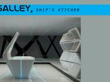 Galley, ship kitchen