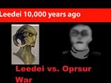 Leedei 10,000 years ago