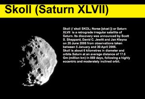 Skoll Saturn XLVII
