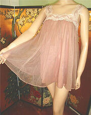 220px-Pink filmy baby doll