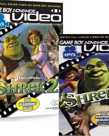 Gba Video Movie Pak Vol 2 Shrek 2 Game Boy Advance Video Wiki Fandom