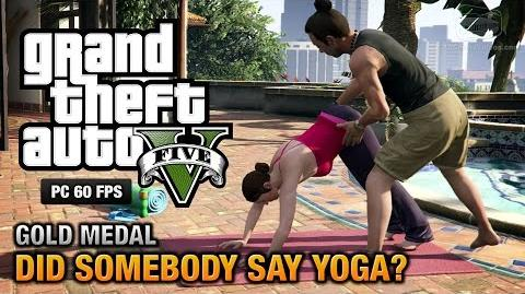 GTA 5 PC - Mission -26 - Did Somebody Say Yoga? -Gold Medal Guide - 1080p 60fps-