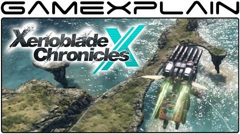 Xenoblade Chronicles X - Cruisin' the World in a Skell to Sweet Tunes -- We go high! (Gameplay)