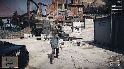 Grand theft auto artillery options