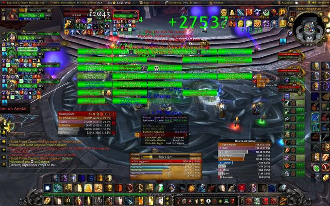 Crazy WoW UI
