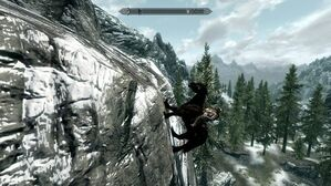 Skyrim-physics-horse