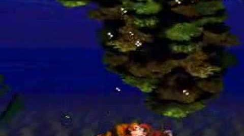 Donkey kong country - Super Nintendo - Aquatic level