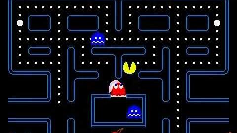 Pacman Gameplay -1-- Beginner's luck