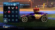 Rocket league customisation