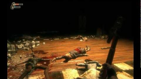Bioshock Shotgun Scene