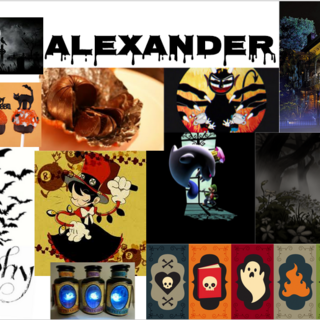 Alexander's aesthetic collage.