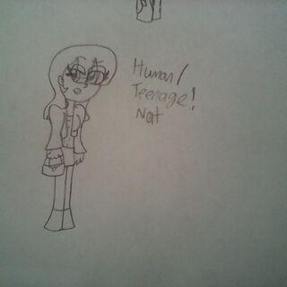 Teenager!Human!Nat (By ThePowerPuffKittie)