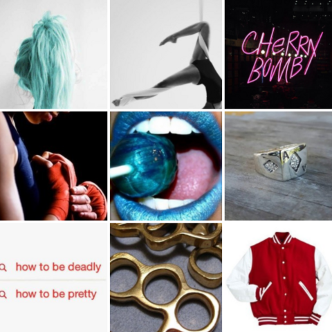 Amygdala aesthetic board