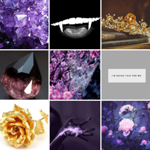 Aster aesthetic board