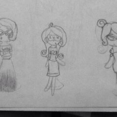 Concepts for Mery's Class Craze, Player's Break, and Pledge Days.