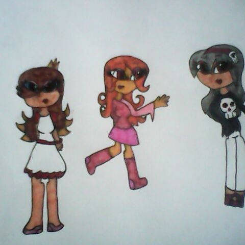 Marie along with Bailey and Marceline