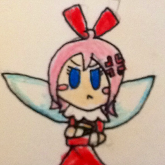 I don't know anymore, so here's Shard, without the hair dye, dressed like her mother.