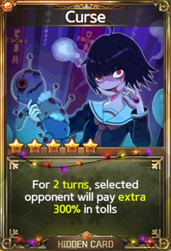 Curse Card