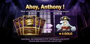 New character anthony