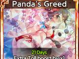 Panda's Greed