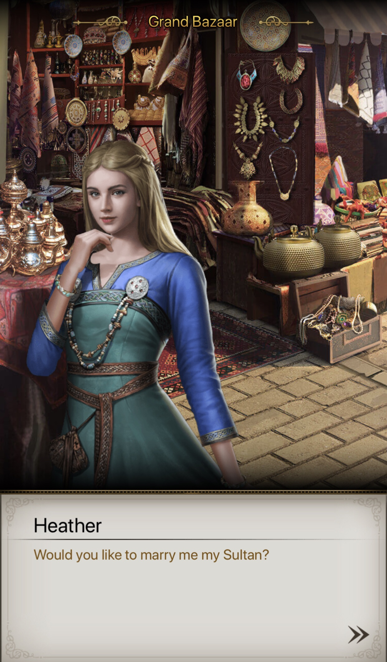 heather game  sultans wiki fandom