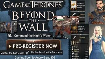 Fan Video Game Of Thrones Beyond The Wall Wiki Fandom