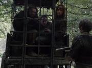 Rorge menace Arya