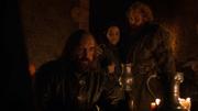 Tormund se consolant avec Willa