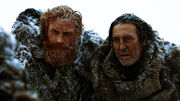 Tormund et Mance (3x03)