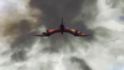 Dragon dans le ciel
