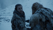 Gendry donne sa masse à Tormund