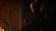 Daenerys donnant le collier de Missandei