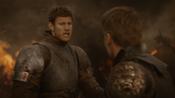 Dickon sauve la vie de Jaime