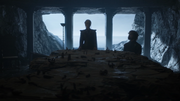 Daenerys et Tyrion à Peyredragon