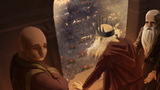 Aerys contemple l'armée de Tywin