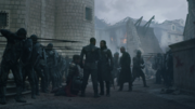 Jon tentant d'arrêter Ver Gris