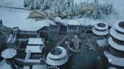 Arrivée des dragons à Winterfell