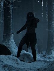 Un marcheur blanc dans le 1x01