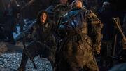 Jon Snow face à Styr