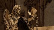 Tywin reçoit un corbeau d'Aerys