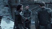 Jon entrainement Chateaunoir(1x03)