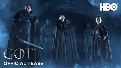 Game of Thrones Saison 8 Official Tease Crypts of Winterfell (HBO)